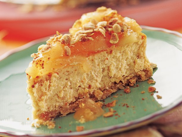 Image of Apple Cinnamon Streusel Cheesecake, Betty Crocker
