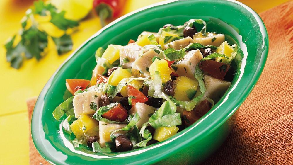 Spicy Southwestern Turkey Salad