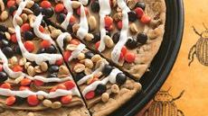 Peanutty Halloween Cookie Pizza Recipe