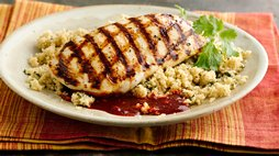 Healthy Grilled Harissa Chicken
