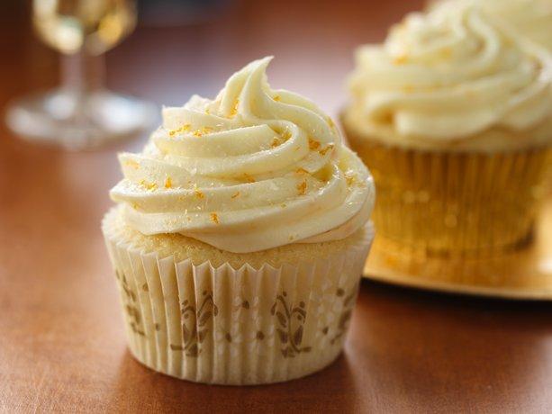 Mimosa Cupcakes