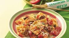 Ravioli with Tomatoes and Olives Recipe