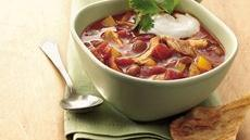 Slow Cooker Chicken Enchilada Chili (Cooking for Two) Recipe
