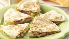 Hawaiian Quesadillas Recipe