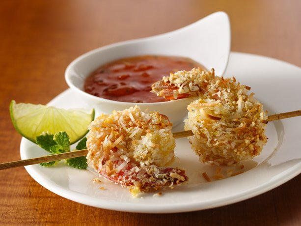 Crunchy shrimp with a sweet and sour dipping sauce -- a favorite ...