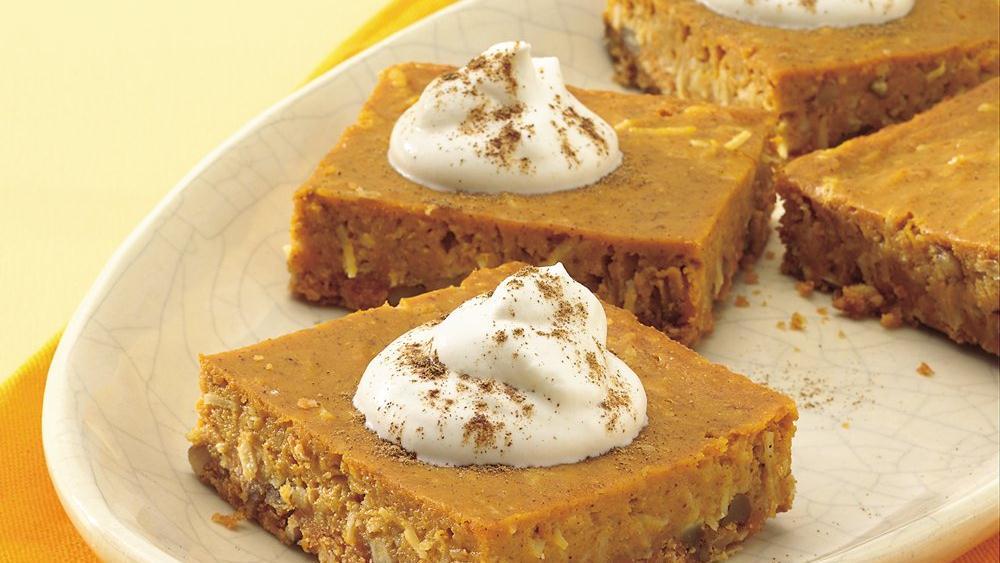 Pumpkin Pie Squares recipe from Pillsbury.com
