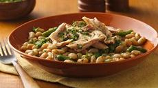 Slow Cooker Tuscan Turkey and Beans Recipe