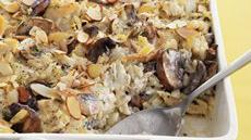 Chicken, Mushroom and Wild Rice Bake Recipe