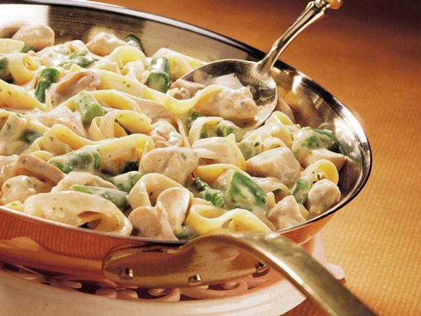 Image of Asparagus-dijon Chicken Fettuccine, Betty Crocker