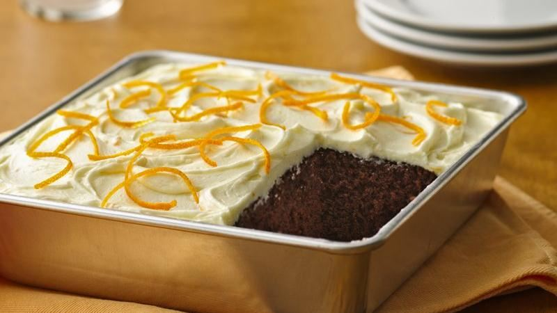 Gluten-Free Chocolate Orange Cake recipe from Betty Crocker