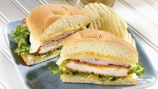 Cordon Bleu Sandwiches