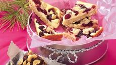 Cranberry-Oatmeal Cheesecake Bars Recipe