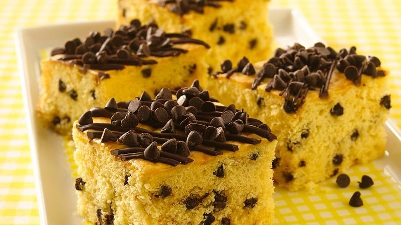 Chocolate Chip Snackin Cake Recipe