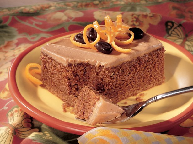 Orange Cappuccino Cake