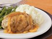 Sage Turkey Meat Loaves with Gravy