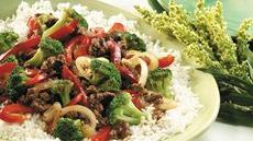 Beef &#39;n Vegetable Stir-Fry for Two Recipe