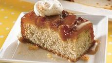 Caramel-Apple Upside-Down Cake Recipe