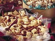Herbed Cashew Snack Mix
