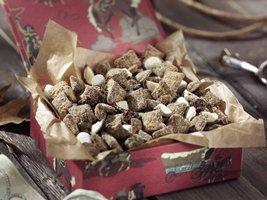 Chocolate Malt Cherry Chex Mix
