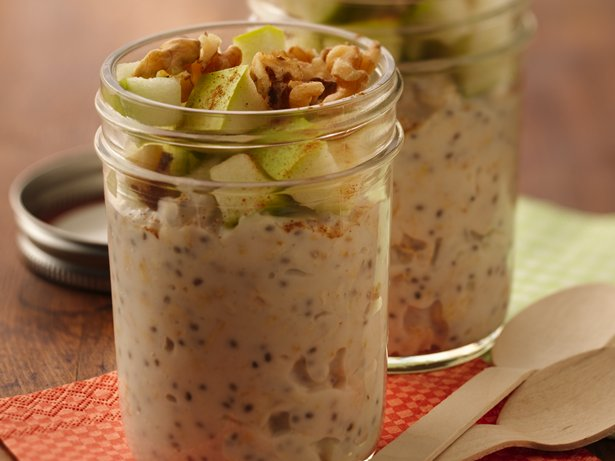Apple Crisp Refrigerator Oatmeal