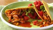 Chile-Chicken Tacos