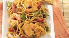 Cold Thai  Noodles with Shrimp Recipe
