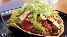 Sizzling Grilled Chicken Tostadas Recipe
