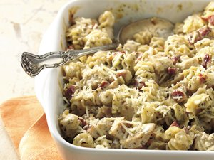 Creamy&#32;Pesto-Chicken&#32;Casserole