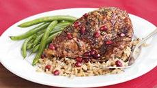 Rosemary Pomegranate Chicken Recipe