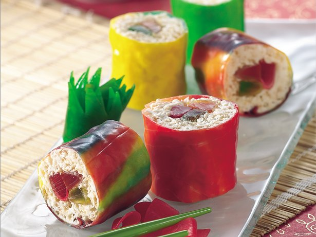 Gluten Free Fruiti Sushi