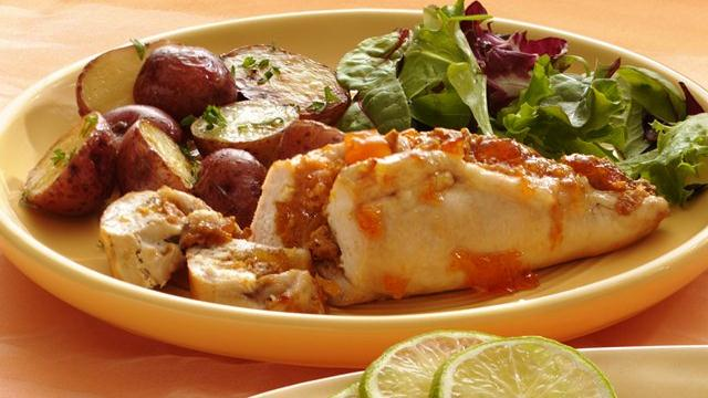 Image of Apricot-stuffed Chicken Breasts, Pillsbury