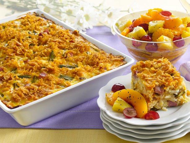 Image of Asparagus, Ham And Egg Bake, Betty Crocker