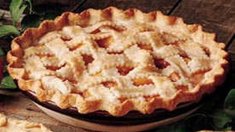 Apple Pie Lattice Top Lattice Peach-apple Pie