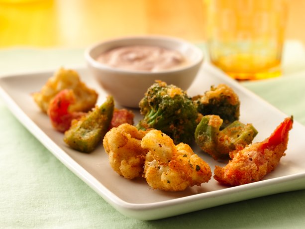 Ranch Veggie Bites