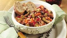 Italian Rice and Veggie Supper Recipe