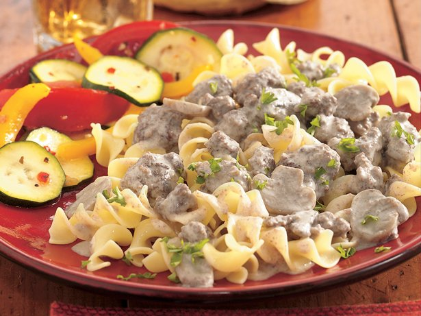 Family-Style Beef Stroganoff
