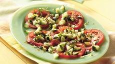 Fresh Tomato and Cucumber Salad Recipe
