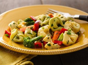 Easy Tortellini Vegetable Salad