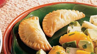 Chile and Cheese Empanaditas