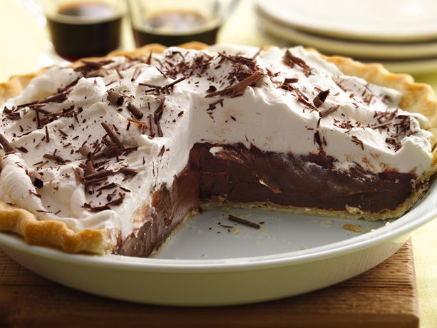 "Sinfully"" Delicious Chocolate Pie 