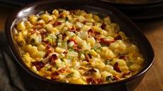 Cheesy Bacon Hash Brown Bake Recipe
