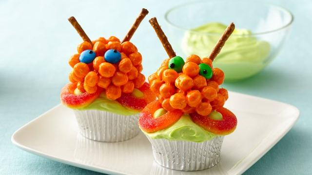 Image of Awesome Alien Cupcakes, Pillsbury