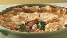 Deep-Dish Turkey Pie Recipe