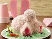 Bunny Butt Cake