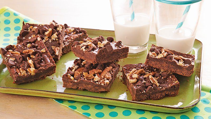 Fudgy Cookie Bars