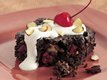 Supreme Fruit and Nut Brownie Dessert