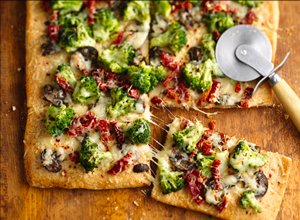 Tuscan&#32;Broccoli&#32;Pizza