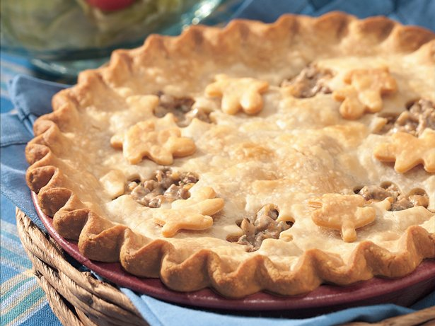 Savory Beef and Mushroom Pie