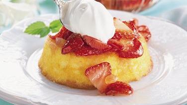 Gingered Strawberry Shortcakes