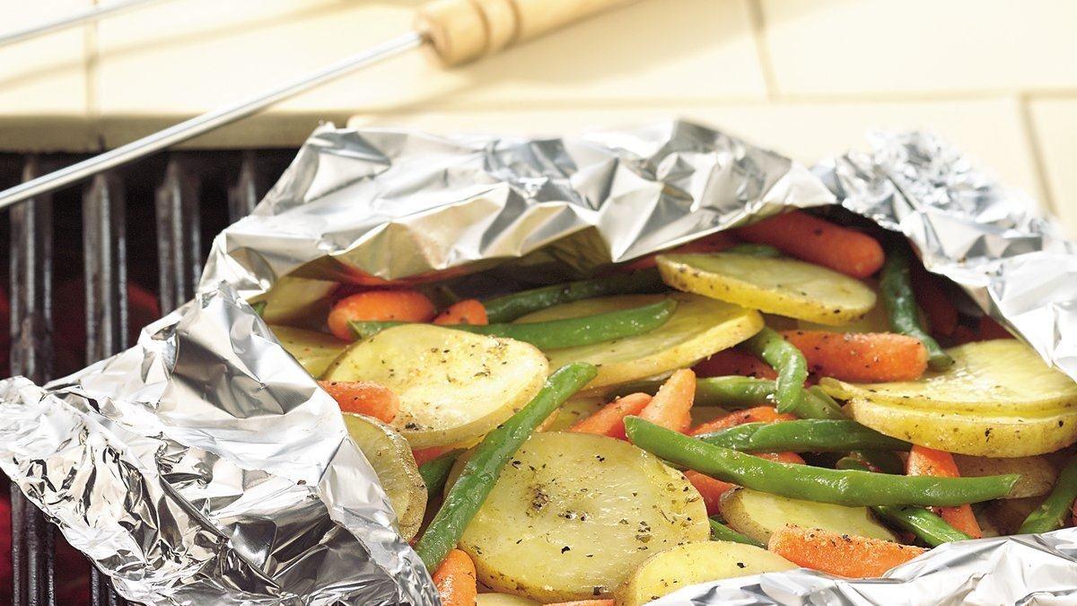 Grilled Garden Vegetable Medley Packs